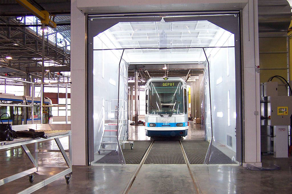 Europa - Cabines peinture poids lourds - tramway - 2